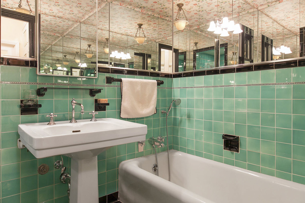 Art Deco Bathroom Redesign Pacific Heights Gail