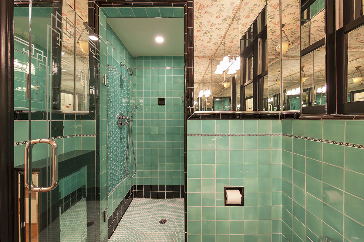 Pacific heights art deco bathroom